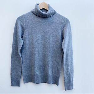 Joie | Gray Turtle Neck Long Sleeve Sweatshirt XS